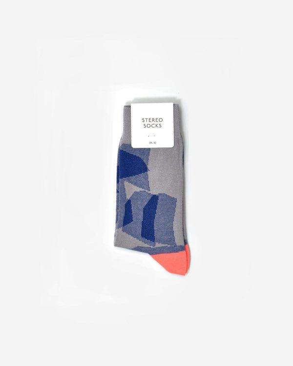 Socken mit Ferse in leuchtender Farbe