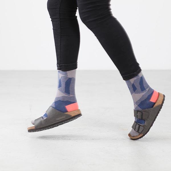 Grafische Socken in Birkenstock